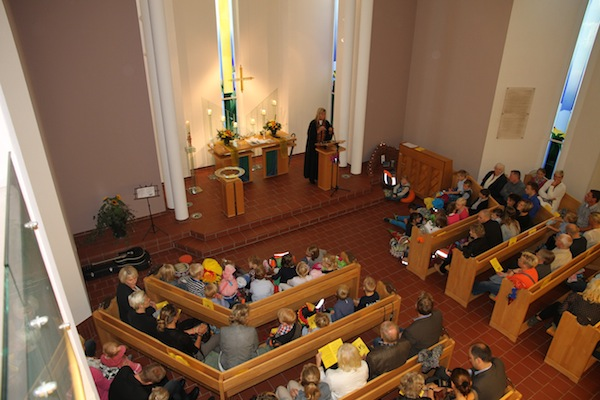 Vor der Einschulungsfeier sind alle Erstklässler zu einem Gottesdienst in die Matthäuskirche eingeladen.