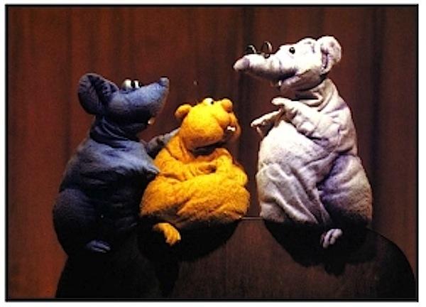 Die drei Käsehochs - Foto: Theaterlaboratorium