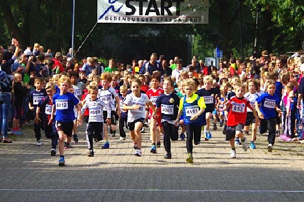 Auch in diesem Jahr war unsere Grundschule wieder beim Sparda-Lauf dabei.