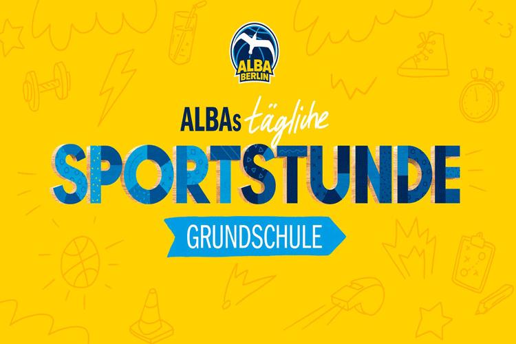 Sportstunde mit Alba Berlin